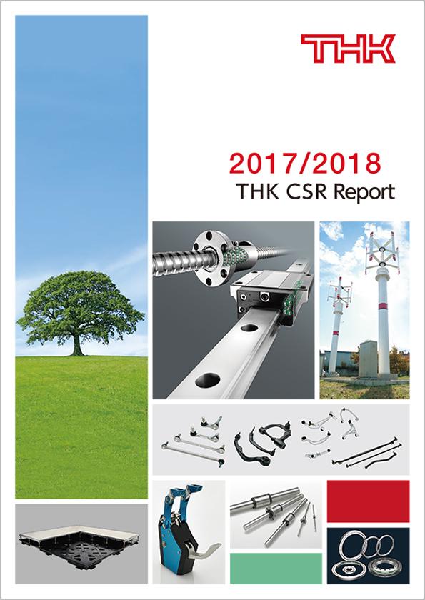 THK CSR Report 2017/2018