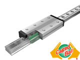 Caged Ball LM Guide Models SPR/SPS(Linear Motion Guide)