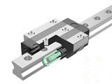 Caged Roller LM Guide (Linear Motion Guide)