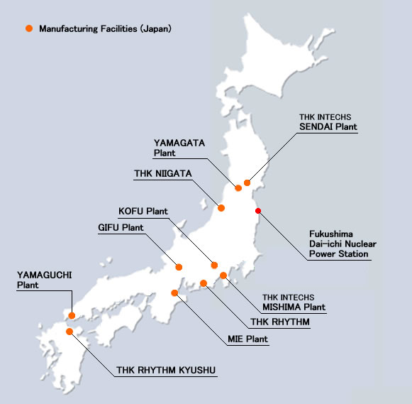 Manufacturing Facilities (Japan)