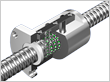 High-Speed Ball Screw with Caged Ball Model SBN