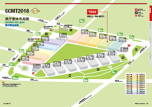 Exhibition Hall MAP